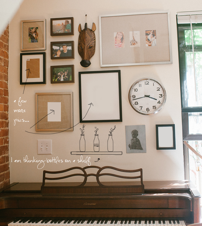 how to hang a wall gallery fine art newborn and family. Black Bedroom Furniture Sets. Home Design Ideas
