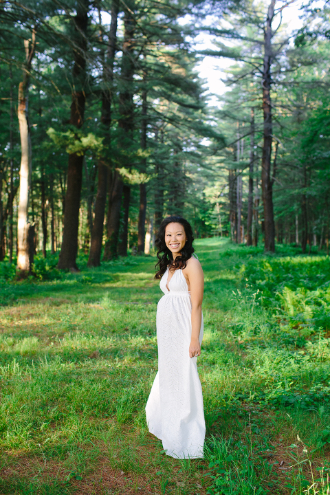 woodland-maternity-session